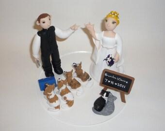 Custom wedding cake topper - made to order