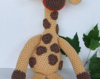 Amigurumi crochet pattern, Giraffe crochet pattern, pdf, digital download