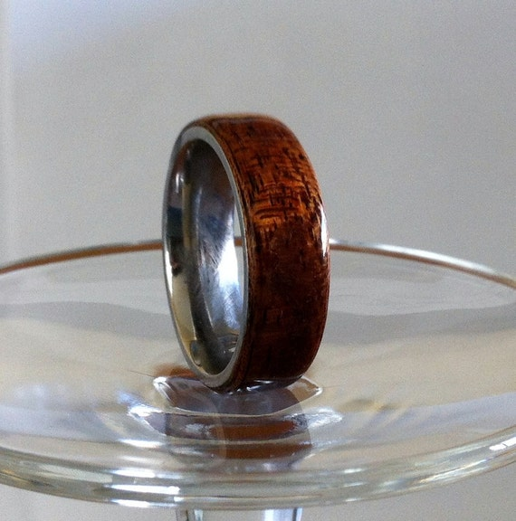 Bentwood Ring Lined with Stainless Steel