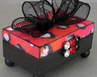 Leopard Love Keepsake Box