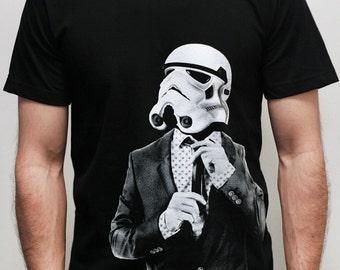 Star Wars Smarttrooper - Mens t shirt ( Star Wars / Storm trooper t shirt )