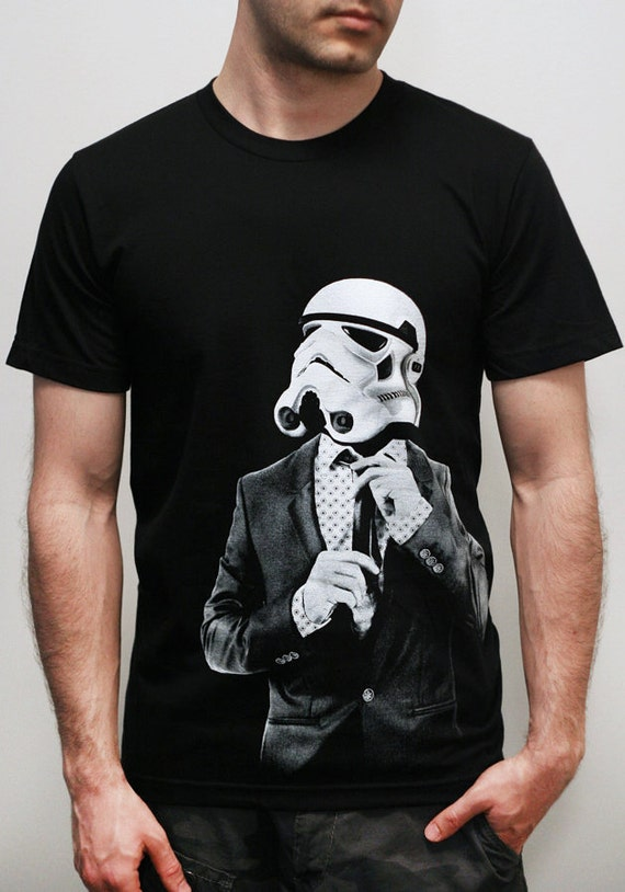Star Wars Smarttrooper - Mens t shirt ( Star Wars / Storm trooper t shirt )