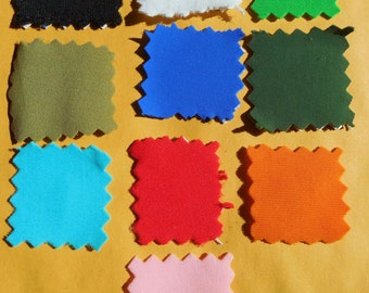 Lycra solids  Half yard cuts  Or ANY Size