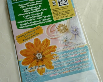 New Item -- 1 pack of CLOVER Kanzashi Flower Maker - Daisy Petal Small (2 inches)