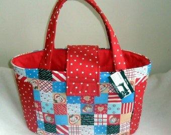 Raggedy Ann and Andy Diaper Bag/Tote LAST ONE