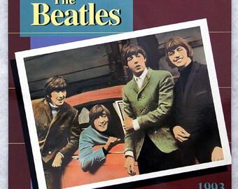 FREE SHIPPING 1993 Beatles Calendar