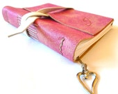 Leather Journal, Pink