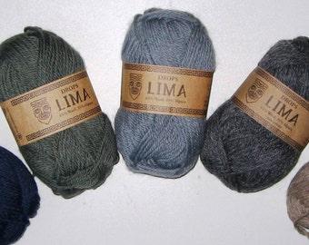 Garnstudio Drops Lima - Alpaca/Wool  DK-Weight Yarn