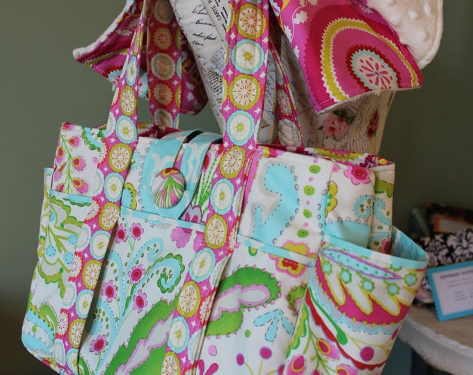 Featured listing image: Watermelon Wishes Diaper Bag Set