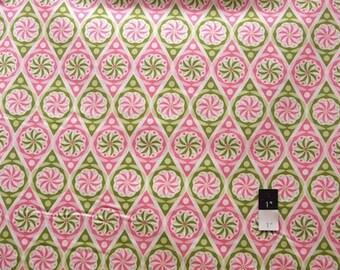 Jenean Morrison PWJM056 Power Pop Big Star Strawberry Cotton Fabric 1 Yard