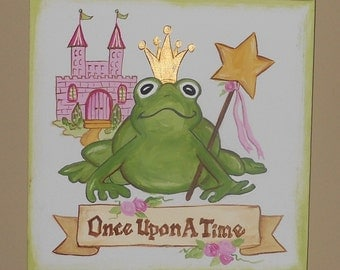 FURTHER REDUCTION -Once Upon A Time Princess Painting
