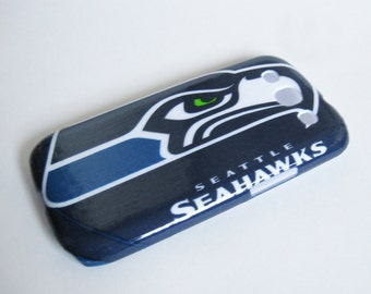 Seattle Seahawks Galaxy S3, S4, S5, or Note 2 Phone Case Back Cover Decoupaged Plastic Hard Shell Case