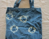 Shibori Indigo Medium Canvas Bag