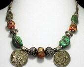 Antique Tibetan Tribal Necklace