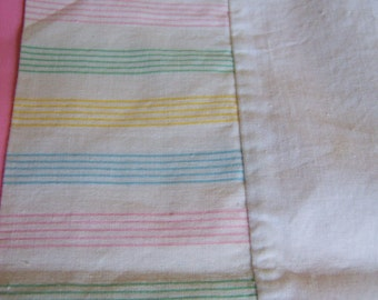 sweet baby size vintage pillow case