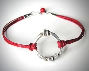 Heart bracelet anniversary harmony friendship bracelet love graduation valentines ready to ship mothers day