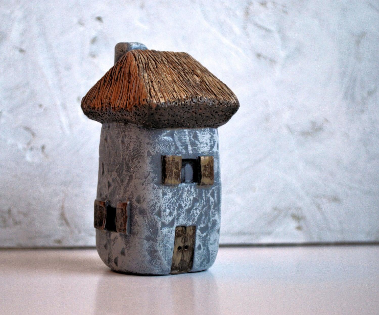 Handmade Polymer Clay Fairy House Fairy Houses Fairy