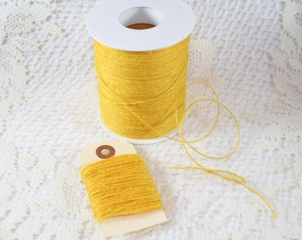 Yellow Rustic Jute Twine - String