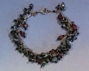 SHAMAN Bracelet with Gemstones HANDMADE Original