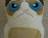 Grumpy Cat Plush Stuffed Kitty