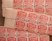 Vintage Pharmacy Savings Stamps (60) - Main Street Paper Ephemera