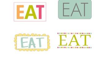 Eat Little Labels
