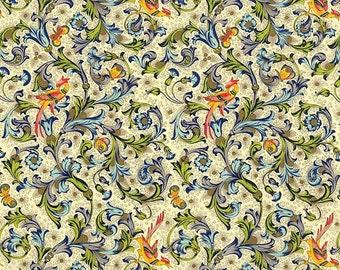 Phoenix Bird Florentine Italian Print Paper ~ Rossi Italy ~ IPR138