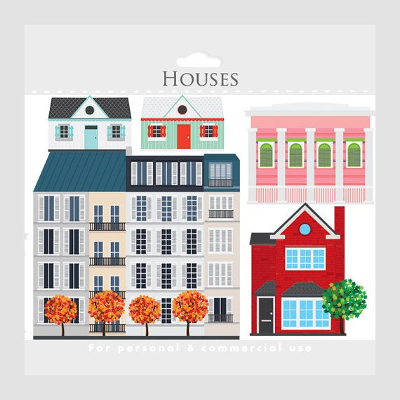 Apartment Building Clip Art
