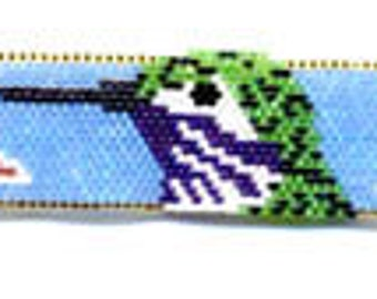 Calliope Hummingbird Earring and Bracelet Pattern