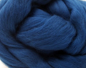 4 oz. Merino Wool Top - New Deal Teal - Ships Free