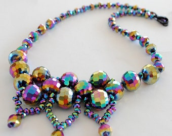 Anna. Necklace. Beaded TUTORIAL