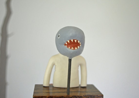 Mook with Shark Mask