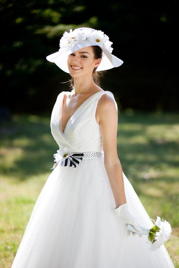 50s Wedding Dress, 1950s Style Wedding Dresses, Tea Length Wedding Dresses 1950s Wedding Dress  TATANYA1950s Wedding Dress  TATANYA $1,950.00 AT vintagedancer.com