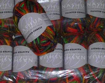 Nashua Handknits Painted Forest Yarn (20 skeins)-Discontinued-Price is for 1 Skein