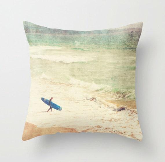 Inexpensive Beach Throw Pillows : pillow cover beach home decor surfer throw pillow