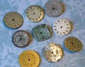Nine Vintage Watch Faces (WPF1029)