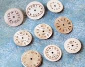 Nine Vintage Watch Faces (WPF376)
