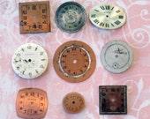 Nine Vintage Watch Faces (WPF1125)