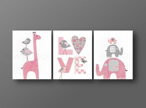 kinderzimmer rosa wand ~ ideen für die innenarchitektur ihres hauses - Kinderzimmer Grau Rosa