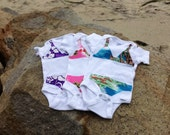 Bikini Onesie--The Littlest Surfer Girl