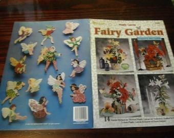 Fantasy Plastic Canvas Fairy Garden Needlecraft Shop 993084 Pattern Leaflet