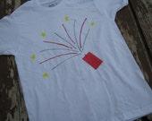 Fireworks creeper or T shirt