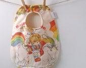 Rainbow Brite Baby Bib - 80's Baby Gift
