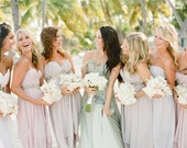 New Custom AsA Bridesmaids Dresses --The Abalone Style--