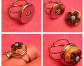 Cocobeads Interchangeable Adjustable Silvertone Ring for Poppers/Chunks (1)