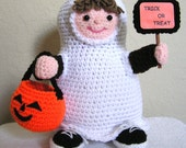 LITTLE TRICK or TREATER Pdf crochet pattern