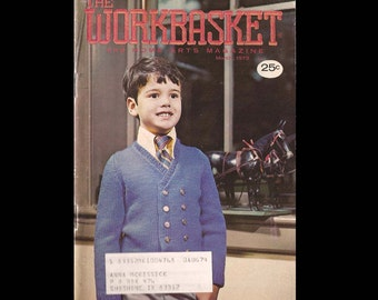 The Workbasket no. 6 vol. 38 - Vintage Craft Magazine c. March 1973