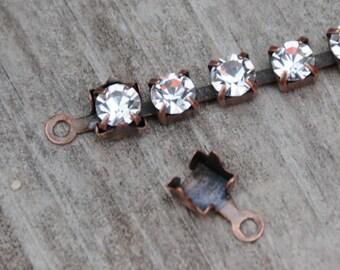 Connectors for Rhinestone Chain