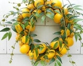 Lemon To Lemon Wreath...