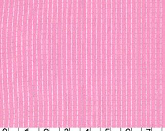 FAT QUARTER - Running Stitch Pink by Michael Miller Fabrics DC5388-Pink